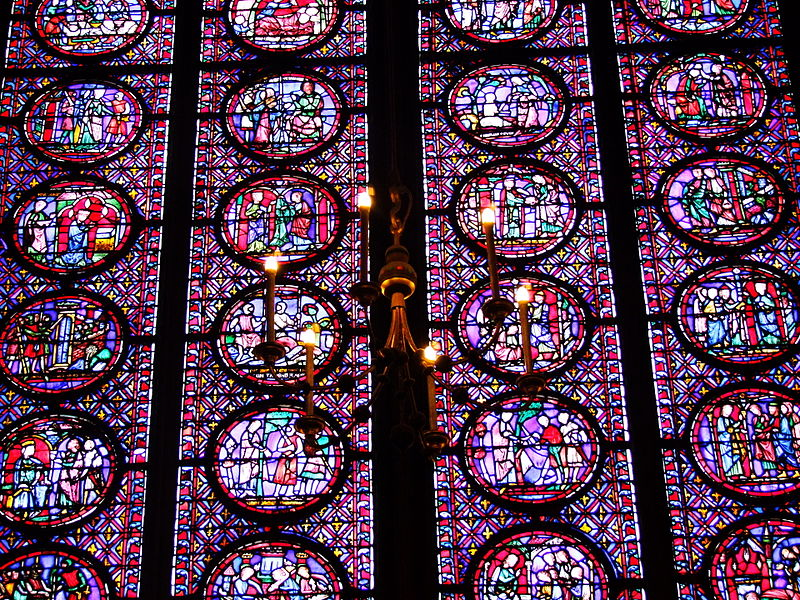 Sainte Chapelle Vitraux