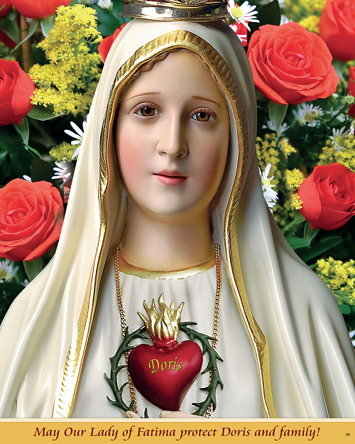 Your Name On Mary's Immaculate Heart